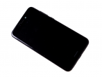 02351CTJ - Front cover with touch screen and LCD display and battery Huawei PRA-LX1 P8 Lite 2017 - black (origi...