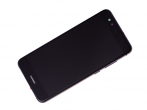 02351FSE - Front cover with touch screen and LCD display + battery Huawei P10 Lite - black (original)