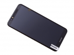 02351WDU - Front cover with touch screen and LCD display Huawei Honor 7A - black (original)