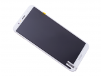 02351WER - Front cover with touch screen and LCD display Huawei Honor 7A - white (original)