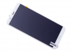 02351WLK - Front cover with touch screen and LCD display Huawei Y6 2018 - white (original)