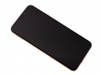 02352DKN - Front cover with touch screen and LCD display Huawei Mate 20 Lite - gold (original)