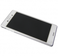 124TUL0010A - Front cover with touch screen and LCD display Sony E2303/ E2306/ E2353 Xperia M4 Aqua - white (origi...