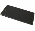 124TUL0011A - Front cover with touch screen and display Sony E2303 / E2306 / E2353 Xperia M4 Aqua - black (origina...