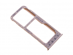 51661HCU - SIM tray Huawei P Smart - gold (original)