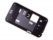74H02485-06M - Middle cover HTC Desire 200 - black (original)