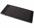 78P7120001N - Front cover with touch screen and LCD display Sony D2303/ D2305/ D2306 Xperia M2 - black (original)
