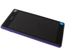 78P7120004N - Front cover with touch screen and LCD display Sony D2302 Xperia M2 Dual - purple (original)