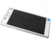 78P7120006N - Front cover with touch screen and LCD display Sony D2302 Xperia M2 Dual - white (original)