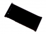 78PB6100010 - Front cover with touch screen and LCD display Sony G3421, G3423 Xperia XA1 Plus/ G3412, G3416, G3426...
