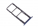97070TTM - SIM tray card Huawei Y6 2018 - blue (original)