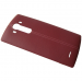 ACQ88373053 - Leather battery cover LG H815 G4 - red (original)