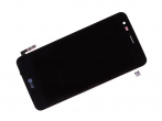 ACQ89888601, ACQ89278661  - Front cover with touch screen and LCD display LG M160 K4 (2017) - titan black (original)