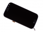 AD97-24387B - Front cover with touch screen and LCD display Samsung SM-C115 Galaxy K Zoom - black (original)