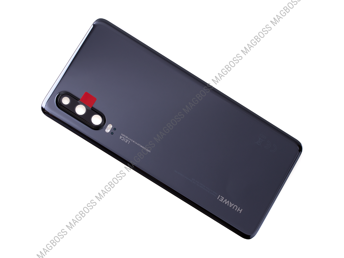 02352NMM - Battery cover Huawei P30 - black (original)