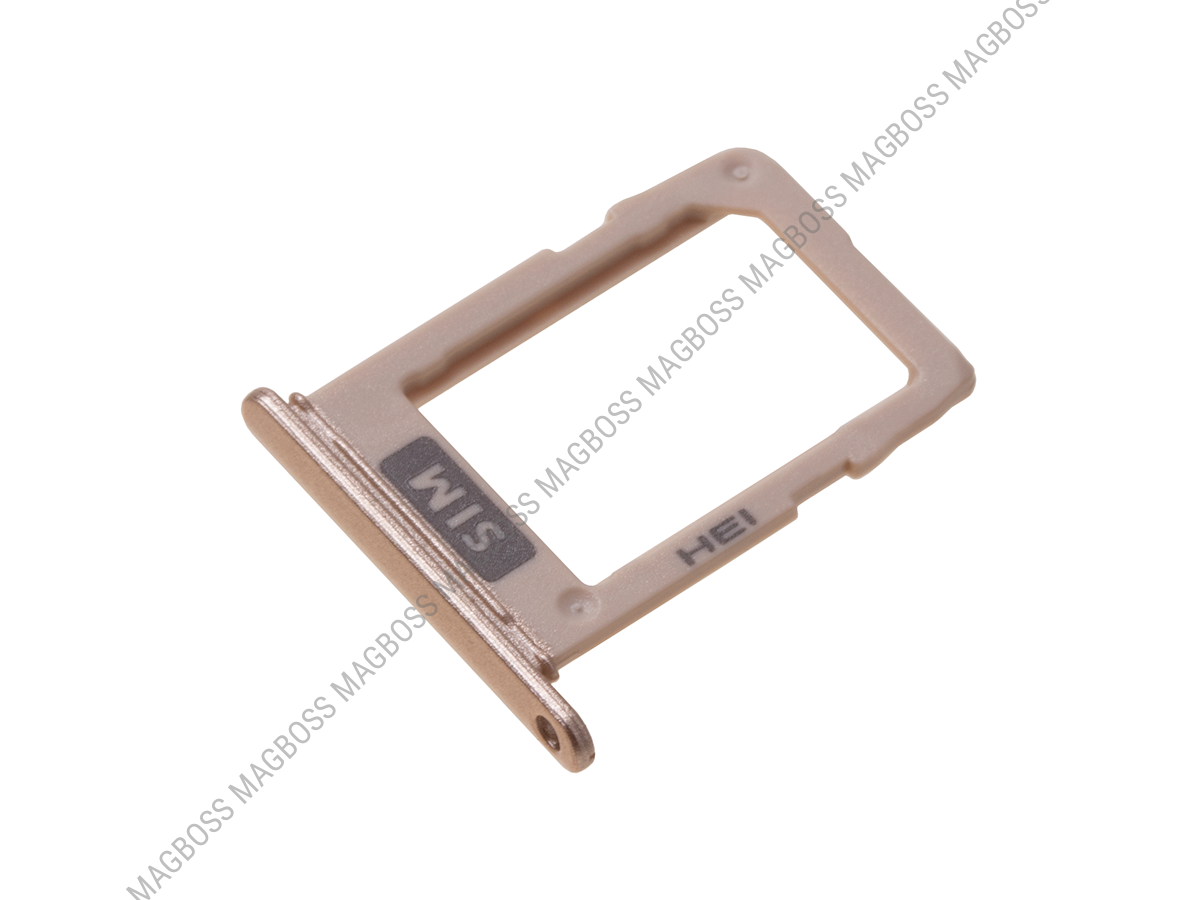 GH64-06855D - Battery cover Samsung SM-A600 Galaxy A8 (2018) - gold (original)