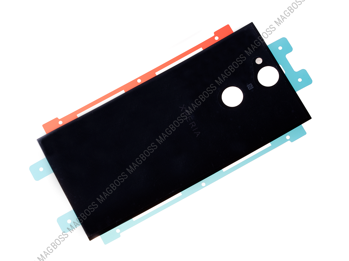 U50056931, 78PC0300020 - Battery cover Sony H3113, H3123, H3133, H4113, H4133 Xperia XA2 - black (original)