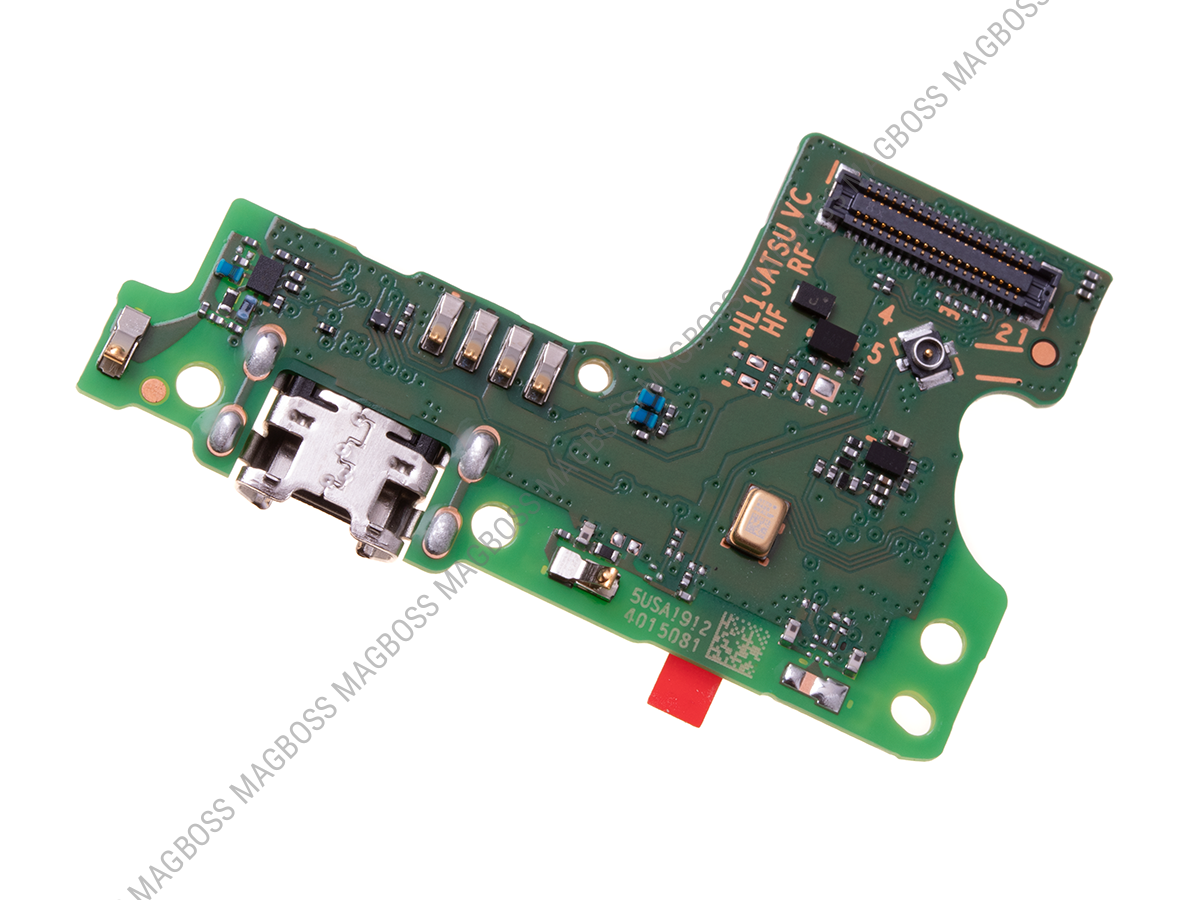 02352LWK - Board with USB connector Huawei Y6 2019 (original)