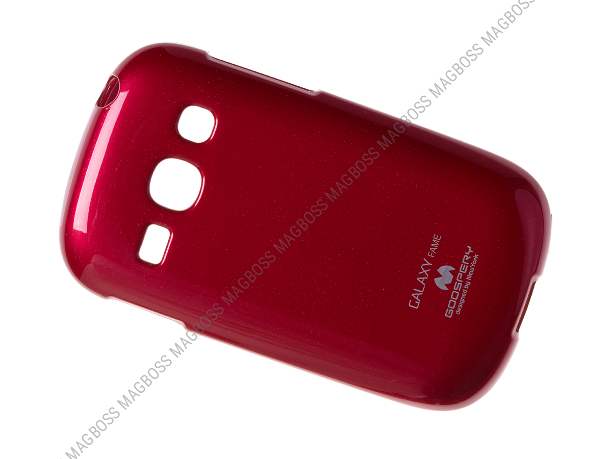 - Case MERCURY Samsung S6810 Galaxy Fame - red (original)