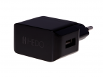 - Charger adapter USB HEDO 2,1A - black (original)