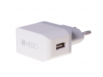 - Charger adapter USB HEDO 2,1A - white (original)