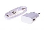 ETA0U83EWE - Charger ETA0U83EWE with cable ECB-DU4AWE Samsung - white (original)
