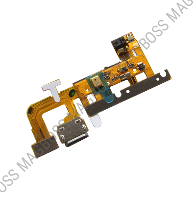 03010UTA, 03022AWW - Flex with USB connector and microphone (top) Huawei Ascend G610 (original)