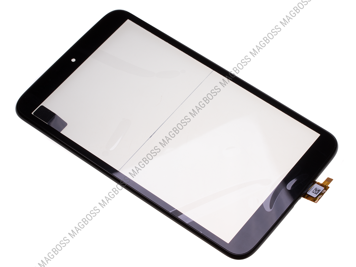 - Front cover with touch screen Alcatel P350X One Touch Pop8 - black (original)