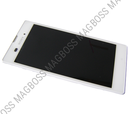 F/191GUL0006A - Front cover with touch screen and display Sony Xperia T3 D5102 / D5103 / D5106 Xperia T3 LTE - white (original)