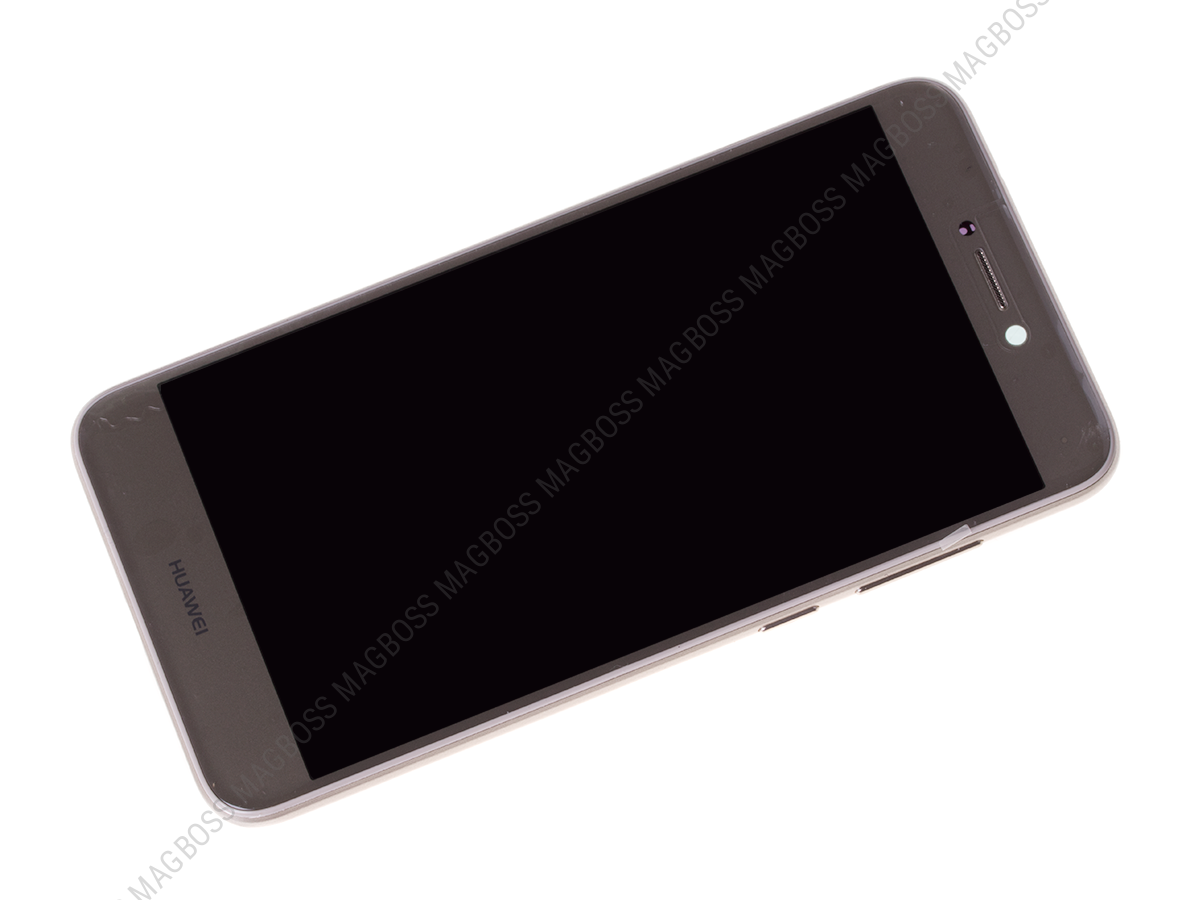02351DLS - Front cover with touch screen and LCD display and battery Huawei PRA-LX1 P8 Lite 2017 - gold (original)