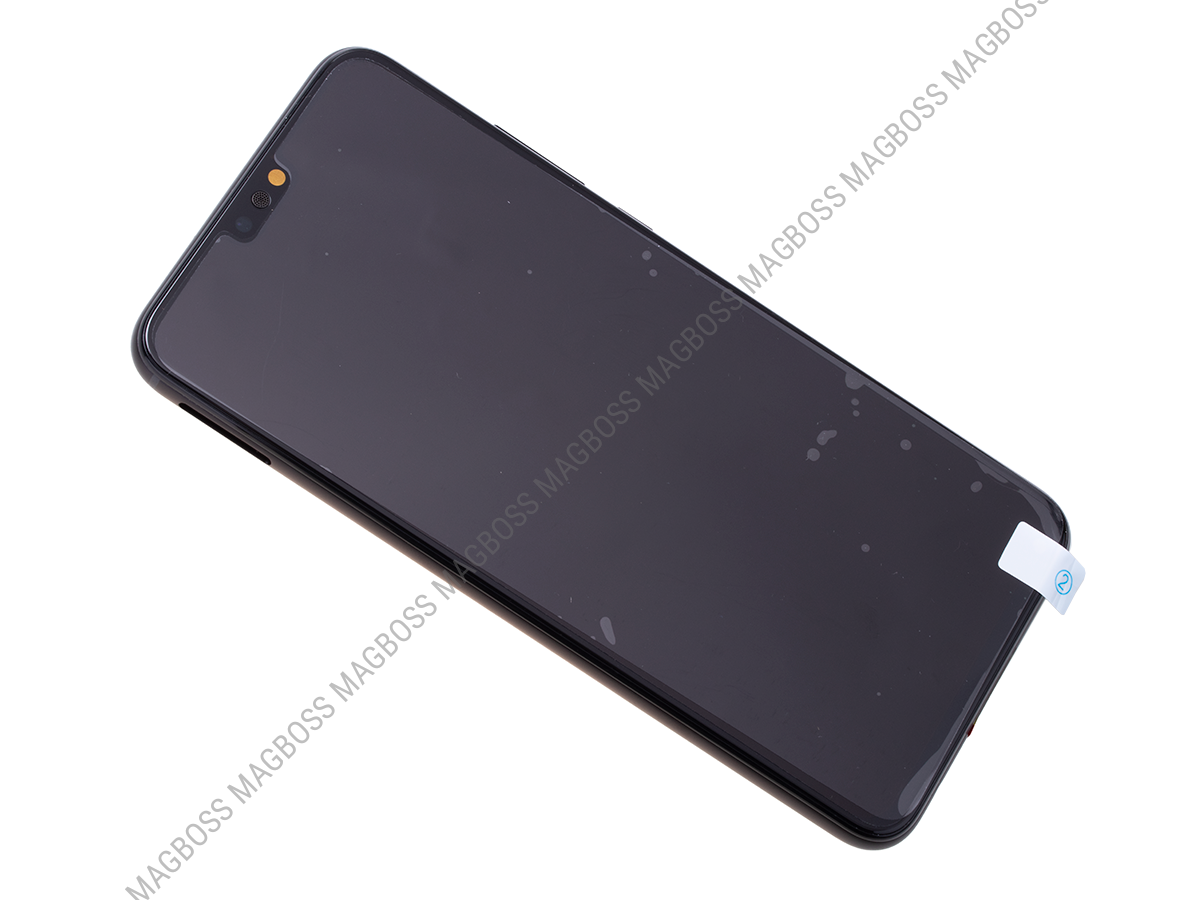 02352DWX - Front cover with touch screen and LCD display Huawei Honor 8X - black (original)