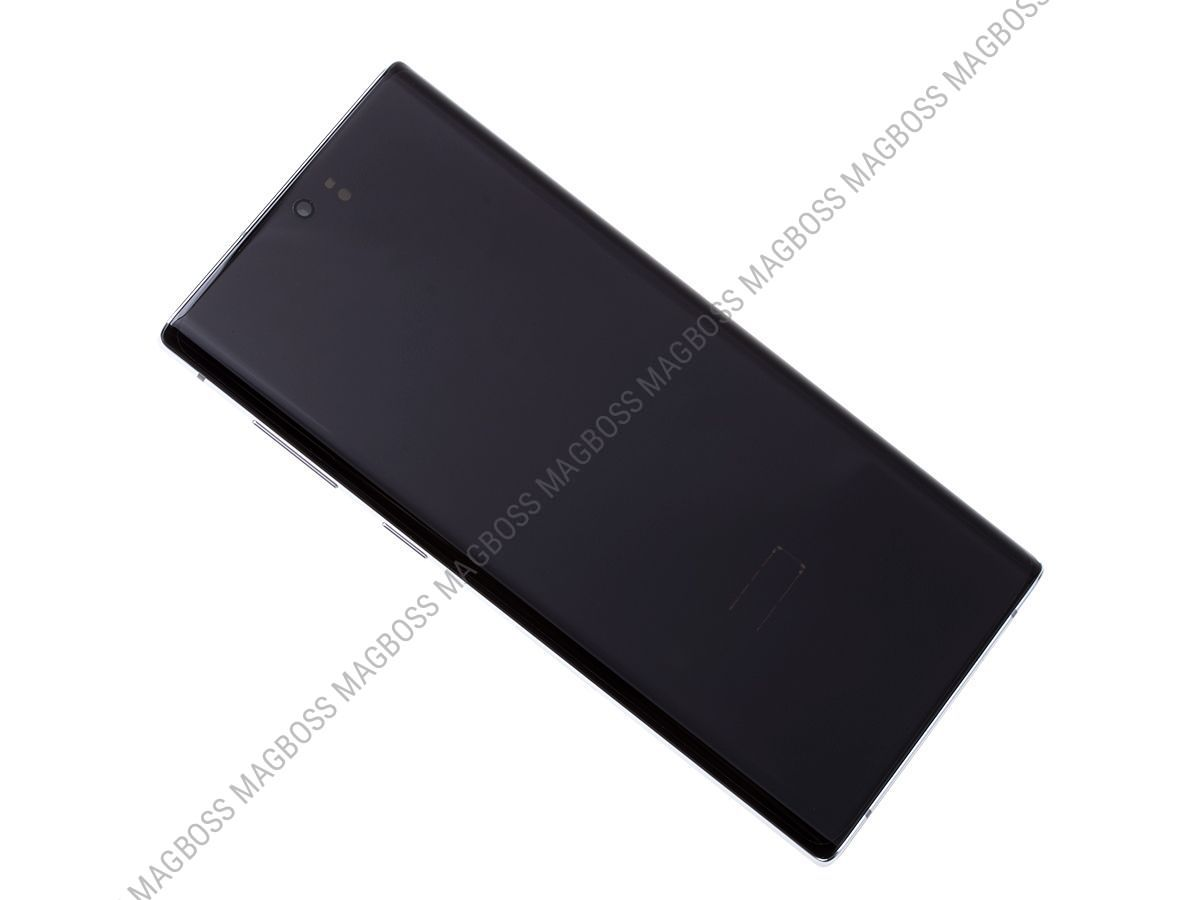 GH82-20818B - Front cover with touch screen and LCD display Samsung SM-N970 Galaxy Note 10 - white (original)