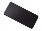 GH82-20227A - Front cover with touch screen and LCD display Samsung SM-A105 Galaxy A10 - black (original)