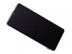 GH82-22055B - Front cover with touch screen and LCD display Samsung SM-N770 Galaxy Note 10 Lite - silver (original...