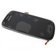 GH97-14204C - Front cover with touch screen and LCD display Samsung I8190 Galaxy S3 Mini - black (original)