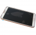 GH97-15209E - Front cover with touch screen and LCD display Samsung N9005 Galaxy Note III - white gold (original)