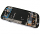 GH97-15472B - Front cover with touch screen and LCD display Samsung Galaxy S3 I9300i Neo - white (original)