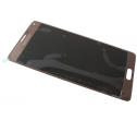 GH97-16565C - Front cover with touch screen and display Samsung SM-N910 Galaxy Note 4 - gold (original)