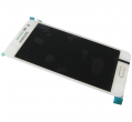 GH97-16747A - Front cover with touch screen and LCD display Samsung SM-A3009 Galaxy A3 - white (original)