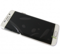 GH97-17162B - Touch screen with LCD display Samsung SM-G925 Galaxy S6 Edge - white (original)