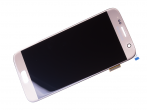 GH97-18523C - Front cover with touch screen display LCD Samsung SM-G930F Galaxy S7 - gold (original)