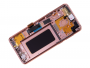 GH97-21691E, GH97-21692E - Front cover with touch screen and LCD display Samsung SM-G965 Galaxy S9 Plus - gold (original)