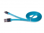 H-CLU1LL01 - Cable HEDO micro usb 1m (blue)