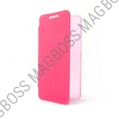 151016HTPPPI - Konkis - Belat One - Book Case PU for HTC One Pink