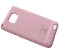 - Rubber case MERCURY Samsung I9100 Galaxy S2 - light pink (original)