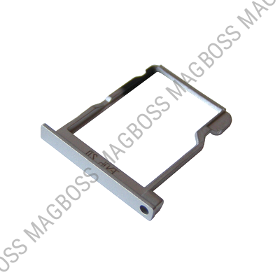 51660DYE - SD tray Huawei Ascend P6 - white (original)