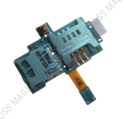 GH59-09495A - SIM and memory card reader Samsung I9000 Galaxy S/ I9001 Galaxy S Plus (oriignal)