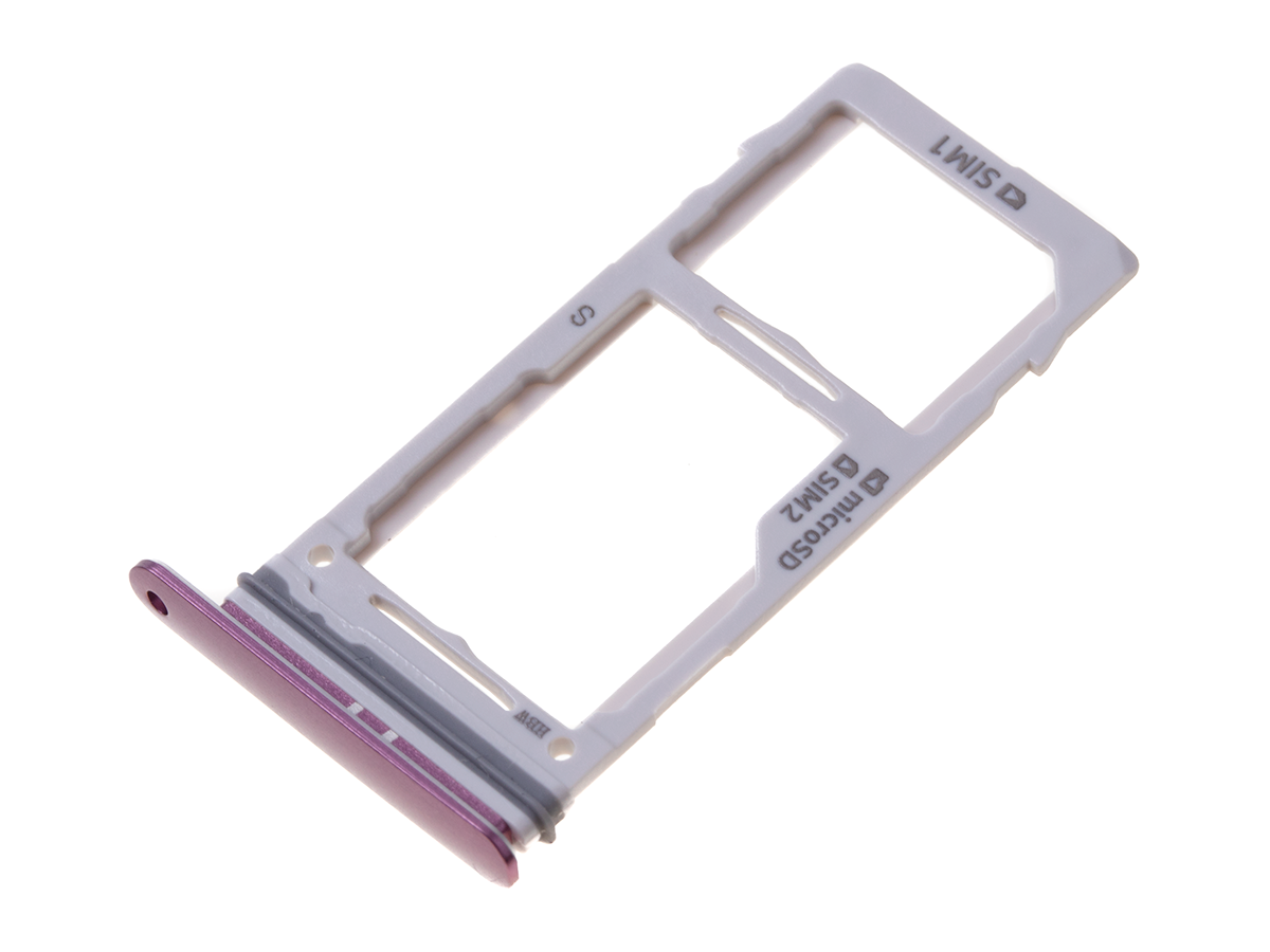 GH98-42650B - SIM and SD tray Samsung SM-G960F/DS Galaxy S9 Dual SIM - Lilac purple (original)