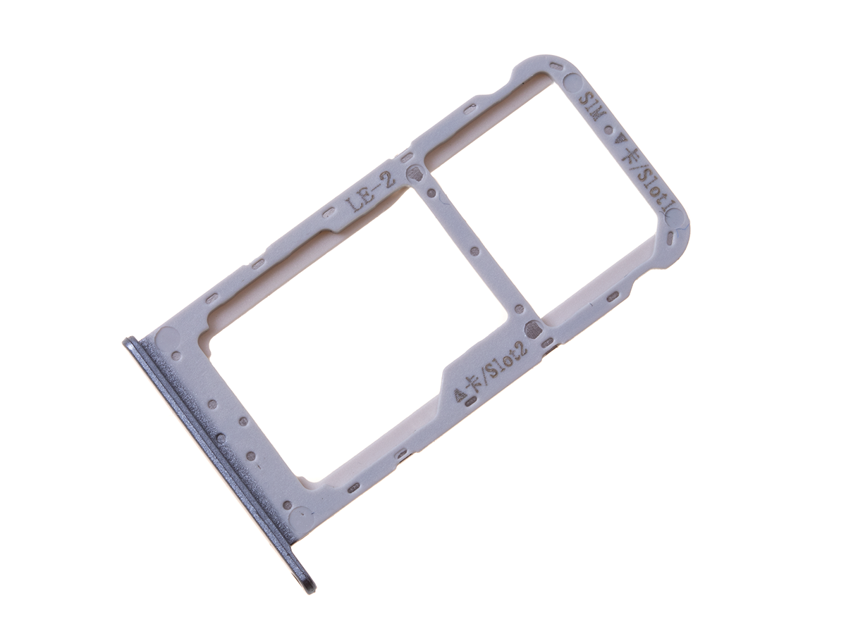 51661GYH - SIM tray card Huawei Honor 9 Lite - grey (original)