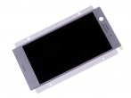 U50046881, 1310-0316 - Touch screen and LCD display Sony G8441 Xperia XZ1 Compact - silver (original)
